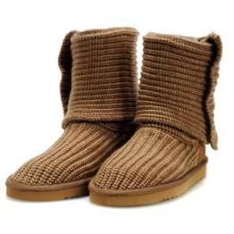 kitykatblog botas de tejido marron