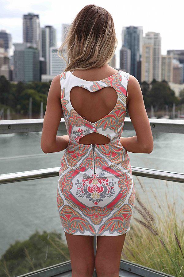 kitykatblog vestido con estampado