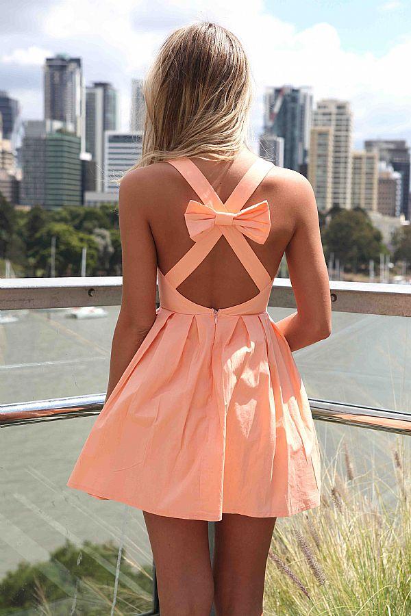 kitykatblog vestido melon