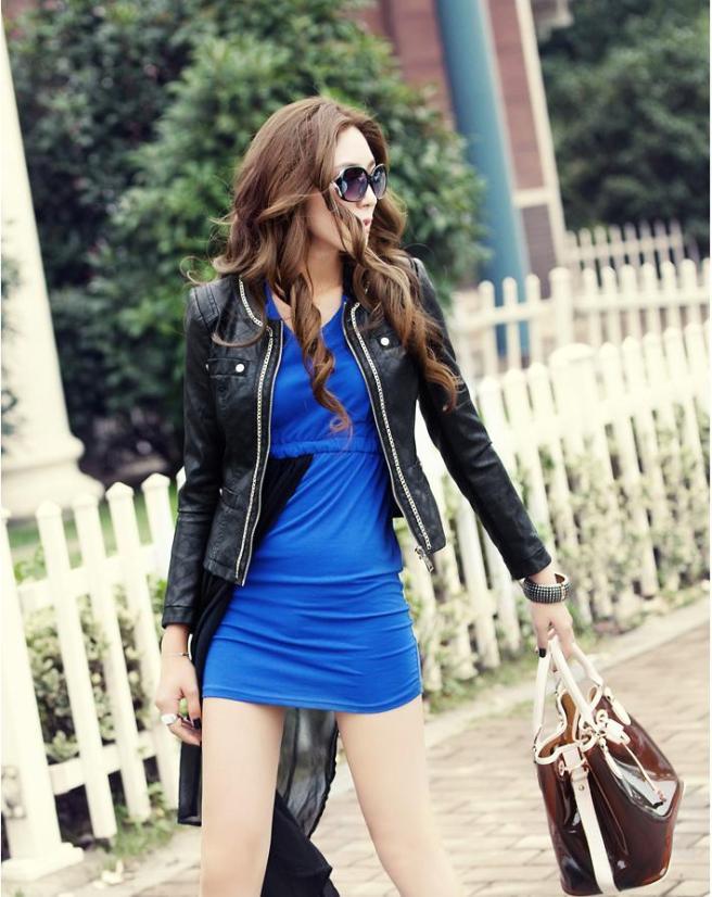 kitykatblog chaqueta con vestido