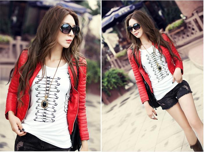 kitykatblog chaqueta roja de moda