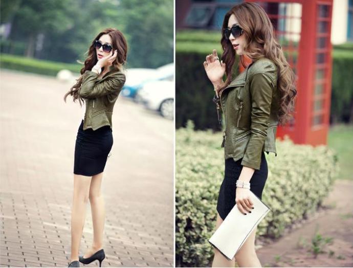 kitykatblog chaqueta verde