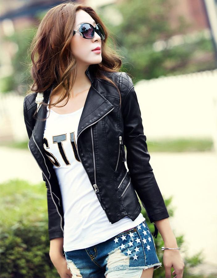 linda chaqueta de cuero kitykatblog