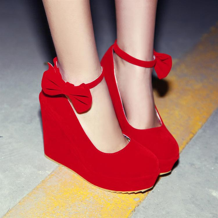 zapato rojo kitykatblog