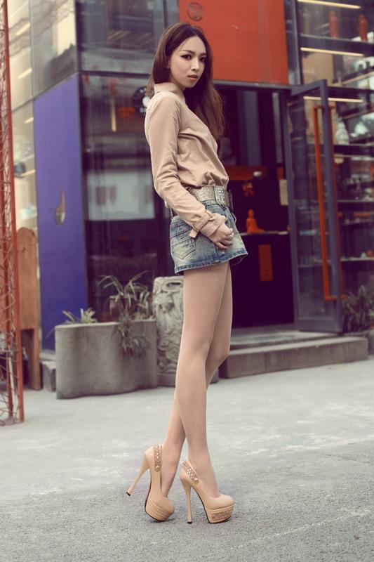 zapatos de plataforma color piel kitykatblog