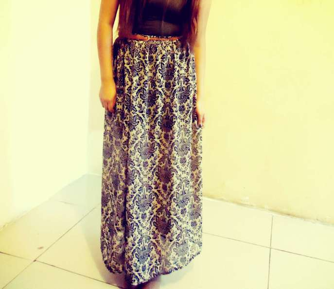 kitykatblog analu verastegui falda con diseño