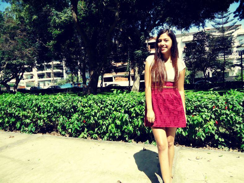 falda con diseños