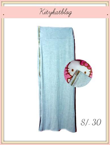 Falda larga plomo - Kitykatblog