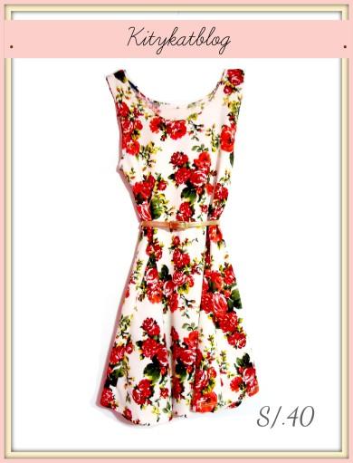 vestido floreado kitykatblog
