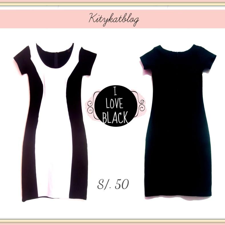 Vestido negro - Kitykatblog
