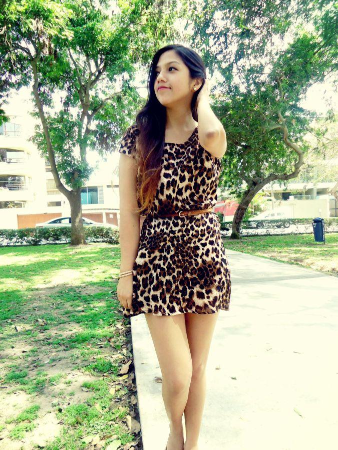 leopard dress 2