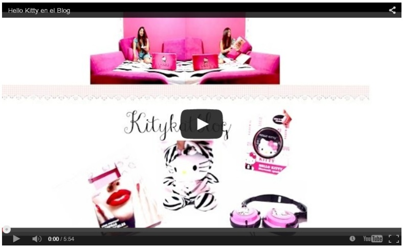 Youtube Hello Kitty en el Blog