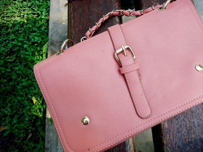 cartera rosa kitykatblog