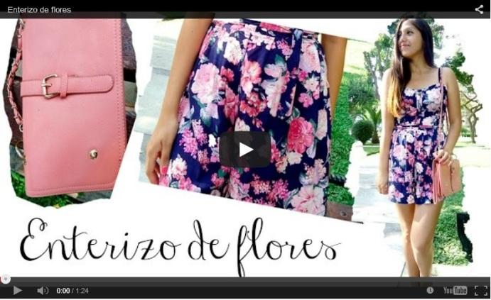 Enterizo de flores Kitykatblog