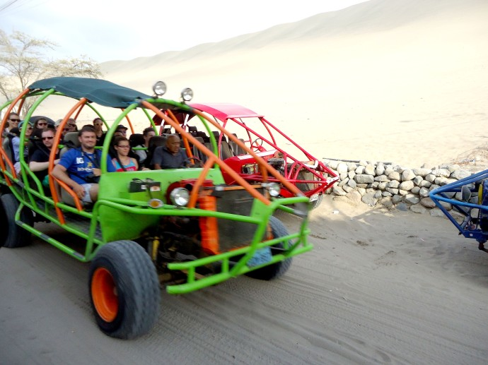carros tubulares huacachina