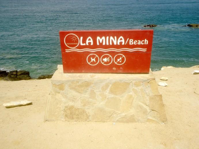 Playa las Minas Paracas