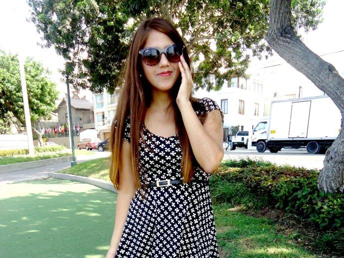 vestido de ajedrez