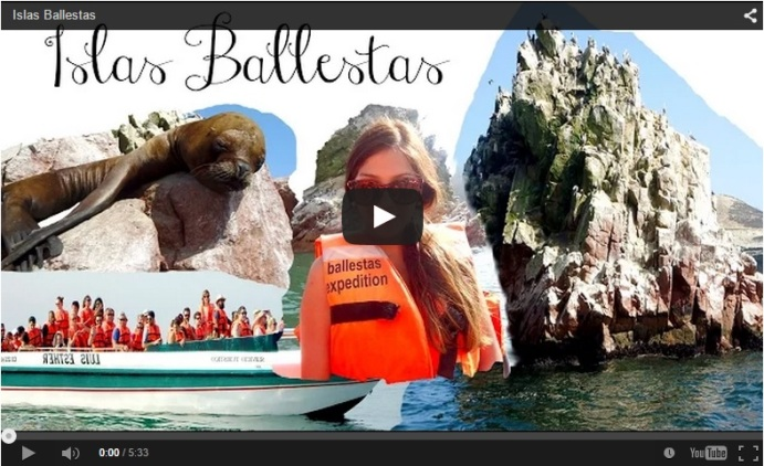 Youtube Islas Ballestas - Kitykatblog
